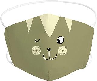 Pekebaby Mascarilla Infantil homologada de tela lavable reutilizable 2 capas + bolsillo con 1 filtro incluido, diseño 003 ...