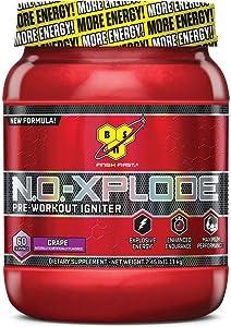 BSN NO Xplode Pre-Workout Igniter Grape 60 Servings