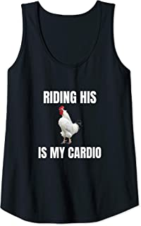 sex is cardio tank top