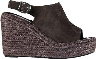 8c3ef0631f Jeffrey Campbell JN017 Wedge Heel Shoes Womens Grey Fashion Footwear