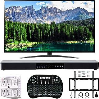 "LG 75SM8670PUA 75"" 4K HDR Smart LED IPS TV w/AI ThinQ 2019 Model with Home Theater 31"" Soundbar, Wireless Backlit Keyboar..."