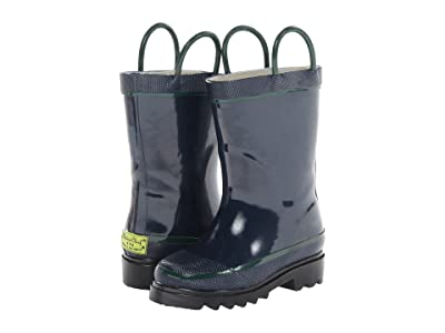 Western Chief Kids Firechief 2 Rainboot (Toddler/Little Kid/Big Kid) (Navy) Kids Shoes