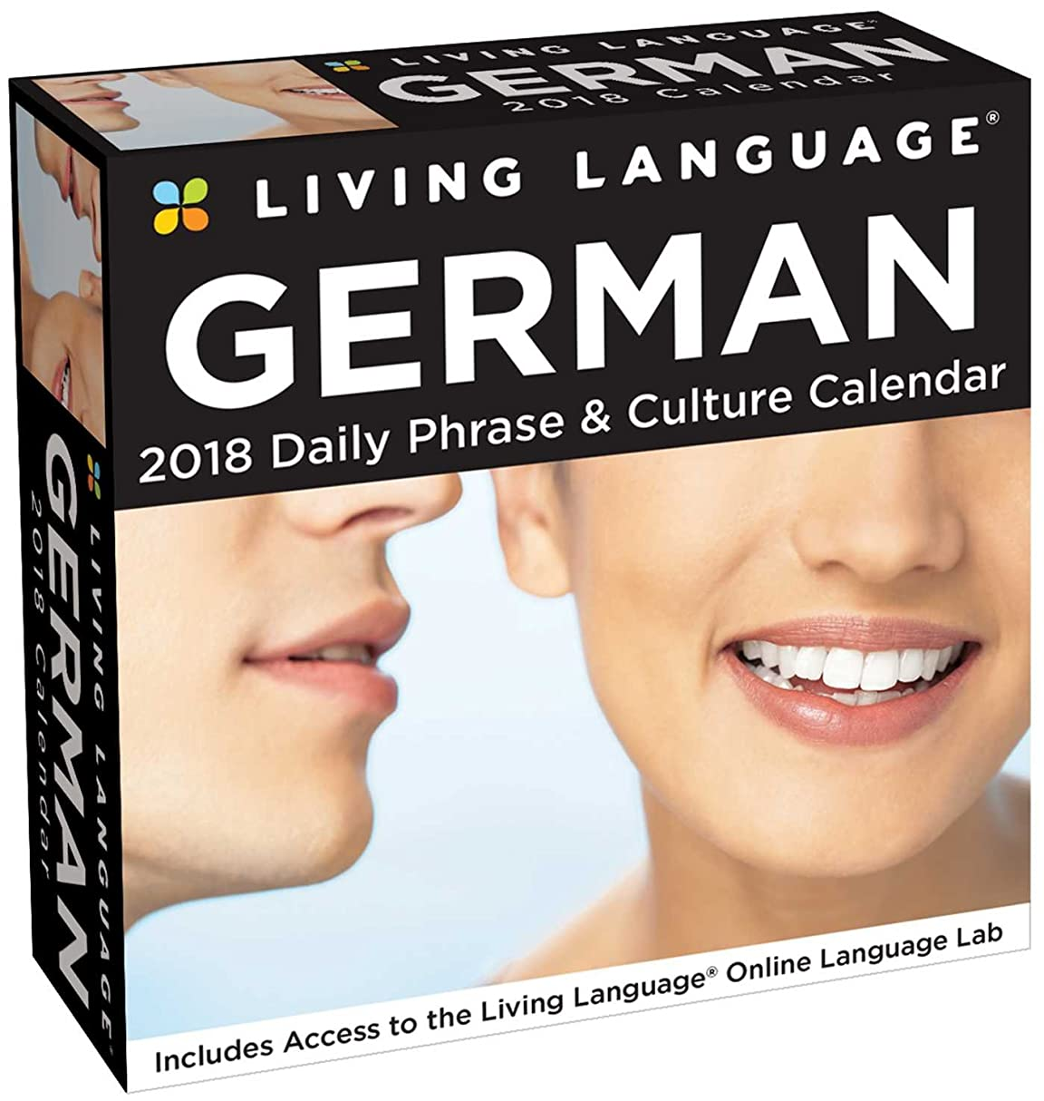 ロマンス航空便光景Living Language: German 2018 Day-to-Day Calendar