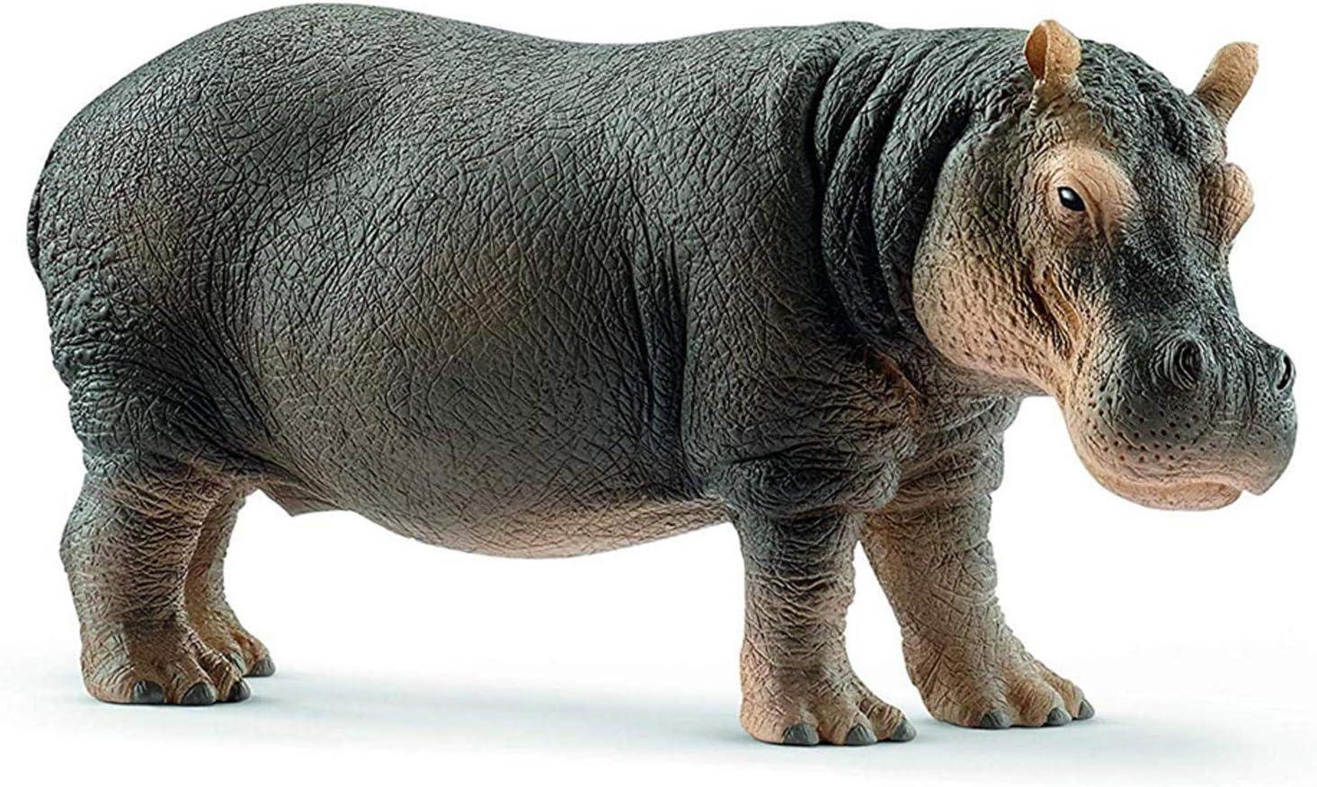 Wild Life Animal Super sale Hippopotamus Figurine for Toys Boys Oklahoma City Mall and