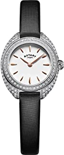 Rotary Womens Analogue Classic Quartz Watch with Stainless Steel Strap LS05087/02
