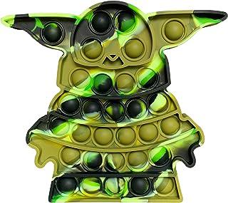 اسباب بازی های Fidget LAVONE ، Push Bubble Fidgets اسباب بازی حسی ، استرس تسکین دهنده اسباب بازی Fidget پاپ برای بزرگسالان - Olive Drab