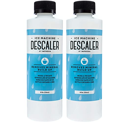 2-Pack Ice Machine Cleaner/Descaler - 8 Total Uses (4 Uses Per