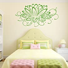 Lotus Flower Wall Decal - Flower Decals For Wall, Blue Lotus Flower, White Lotus Flower, Pink Lotus Flower, Purple Lotus F...