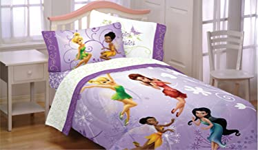 Disney Tinkerbell Fairies Flight 3pc Twin Bed Sheet Set