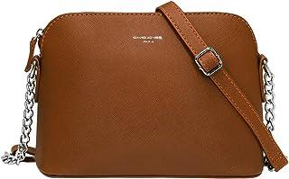 comprare on line 93357 1f4aa Amazon.it: Marrone - Borse a tracolla / Donna: Scarpe e borse