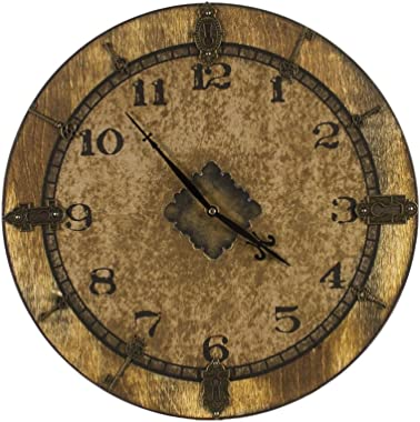 Walnut Hollow 27636 Baltic Birch Clock Face Gallery Round, 14-Inch