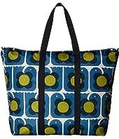 Orla Kiely - Love Birds Print Foldaway Travel Bag