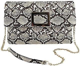 Gets Fashion Womens Envelope Bag Snakeskin Evening Clutch Bag New Look Clutch Purse