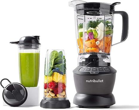 Amazon.com: NutriBullet ZNBF30500Z Blender Combo 1200 Watt, 1200W, Dark Gray: Kitchen & Dining