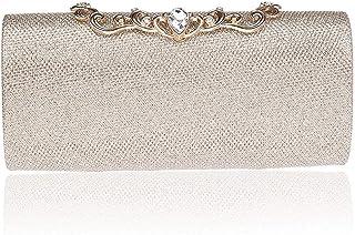 Women Glitter Sequins Handbag Party Evening Envelope Clutch Bag Wallet Purse GX