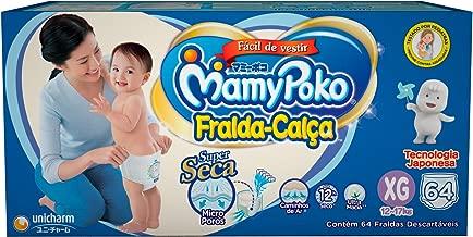 Fralda-Calça MamyPoko Tamanho XG, Caixa com 64 unidades