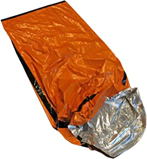 Better Outdoor Emergency Sleeping Bag Thermal Bivvy - Use as Emergency Bivy Bag, Survival Sleeping Bag, Mylar Emergency Bl...