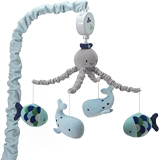 Sponsored Ad - Lambs & Ivy Oceania Musical Nursery Crib Mobile - Ocean, Whale, Underwater Theme