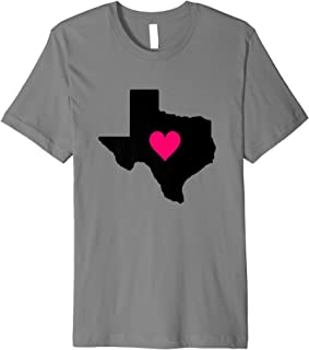Texas - My Heart is in Texas Shirt