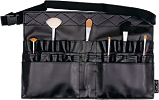 Comicfs Makeup Brush Bag A1 Professional Cosmetic Holder 28 Pockets Organizer Apron with Artist Belt Strap/Belt Light Weight