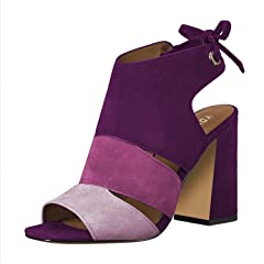 eaceeeb2579 YDN Women s Fashion Peep Toe Bootie Pumps Chunky Heels Boots .