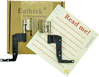 Eathtek Replacement Screen Hinge Left Right Hinges Set for Dell Latitude E5520 seires, Compatible Part Number 31FVT 3RCYY