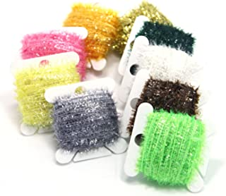 SAMSFX Ice Chenille Fly Tying Materials Flash Cactus Chenille