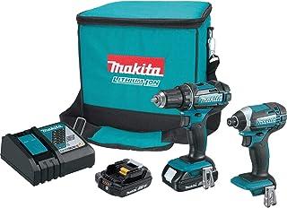 Makita CT225R 18V LXT Lithium-Ion Compact Cordless 2-Pc. Combo Kit (2.0Ah)