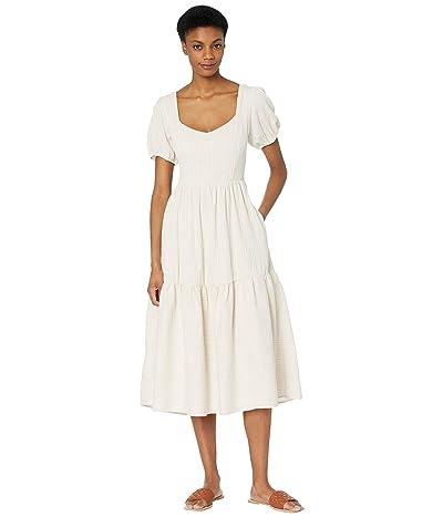 LOST + WANDER Fly Away Midi Dress (Clay) Women