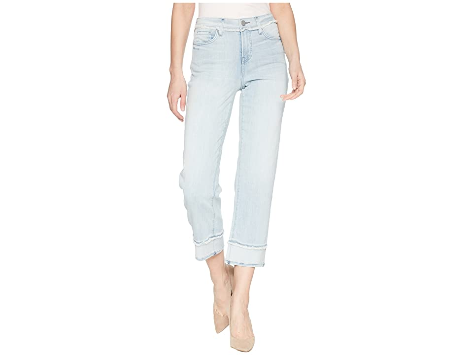 NYDJ Jenna Straight Ankle with Fray in Stillwater (Stillwater) Women's Jeans