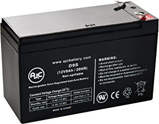 Leoch DJW12-9.0 T2, DJW 12-9.0 T2 12V 9Ah UPS Battery - This is an AJC Brand Replacement