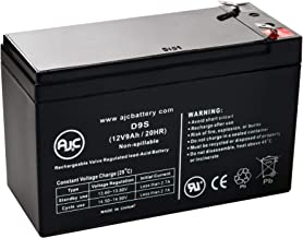 Geek Squad GS-1285U 12V 9Ah UPS Battery - This is an AJC Brand Replacement