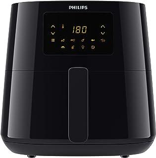 Philips Air Fryer XL 1.2KG, 6.2L capacity, Digital Screen,Black, HD9270/90