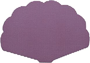 Kraftware Shell Placemat in Purple - Set of 12
