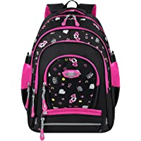 COOFIT Original Design Two-way Zipper School Backpack for Girls