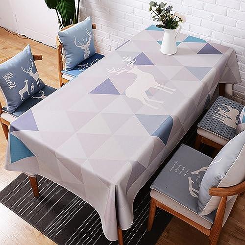 Küchenwäsche Tischdecken aus Leinen und Baumwolle Tischdecken und Tischdecken aus europäischem Stoff Rechteckige und dicke Tischdecken Frische und dicke Tischdecken Tischdecken aus Baumwolle 140  230cm ( Farbe   C , Größe   100140CM )