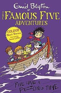 Famous Five Colour Short Stories: Five Have a Puzzling Time