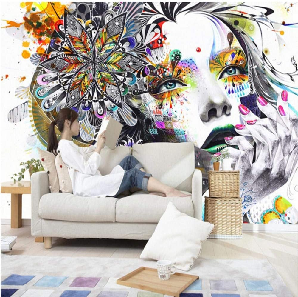 Custom 3D Mural Wallpaper Abstract Color Wall Figures Genuine 2021 new Photo Art