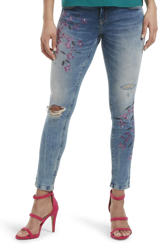 HUE Women's Fashion Denim Ranking TOP3 Skimmer New arrival Jean Leggings