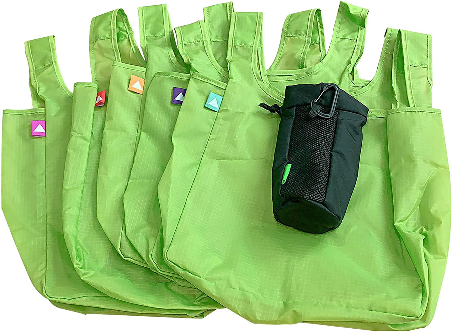 SEAL limited product Our shop most popular Reusable Grocery Bags with Pouch Compact Travel Totes Shopping