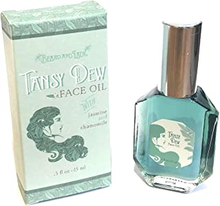 Beard and Lady - Tansy Dew Natural Face Oil - Calming, Clarifying Anti-Inflammatory Topical Face Care Serum