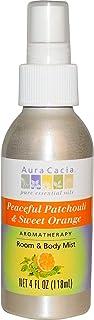 Aura Cacia Aromatherapy Mist Patchouli Sweet Orange - 4 fl oz