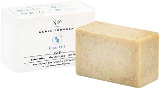فرمول نوبل 2٪ Pyrithione روی (ZnP) صابون اصلی Emu Bar ، 3.25 اونس
