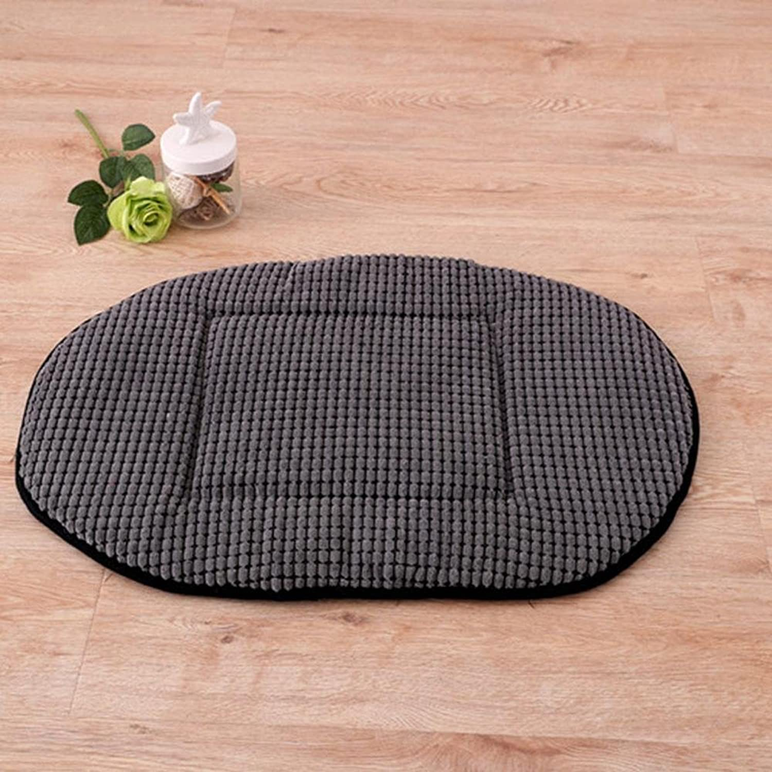 Daeou Pet mat Dog Mat Oval Corn Pet Mat 70x45cm