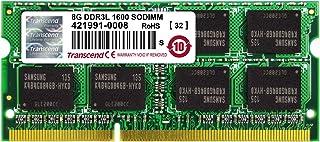 Transcend Information 8GB DDR3L 1600 SO-DIMM 2Rx8