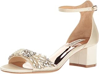 Best badgley mischka tamara leather ankle-strap sandals Reviews