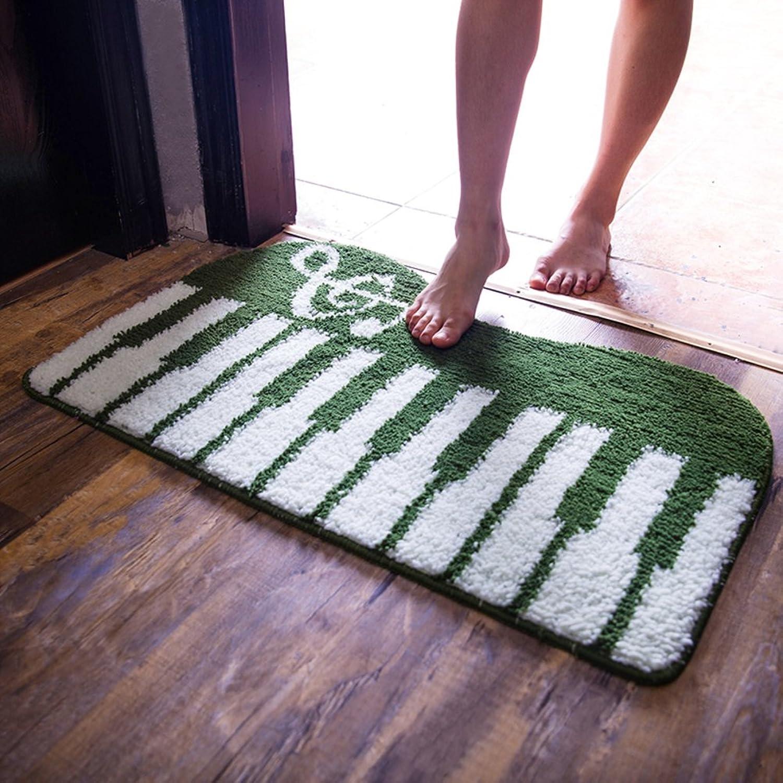 Bathroom Non-Slip mats Carpet Doormat Lobby Entrance Bedroom mat Foot pad-O 60x90cm(24x35inch)