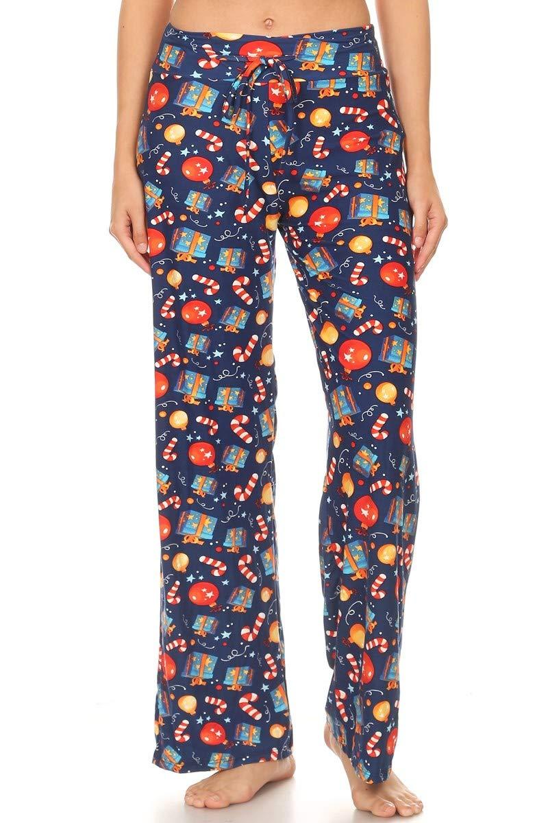 Image of A Customer Favorite: Fun Christmas Lounge Pajama Pants for Women