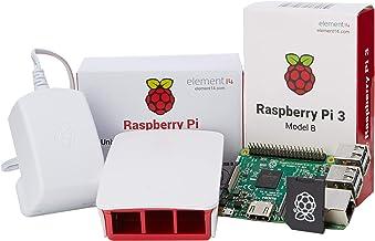 Raspberry Pi 3 Official Desktop Starter Kit (16GB, White)
