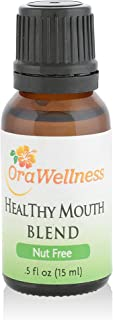 OraWellness NUT FREE HealThy Mouth Blend Tooth Oil, Organic Toothpaste & Mouthwash Alternative With Clove Oil Promotes Healthy Teeth & Gums, 1 Pack